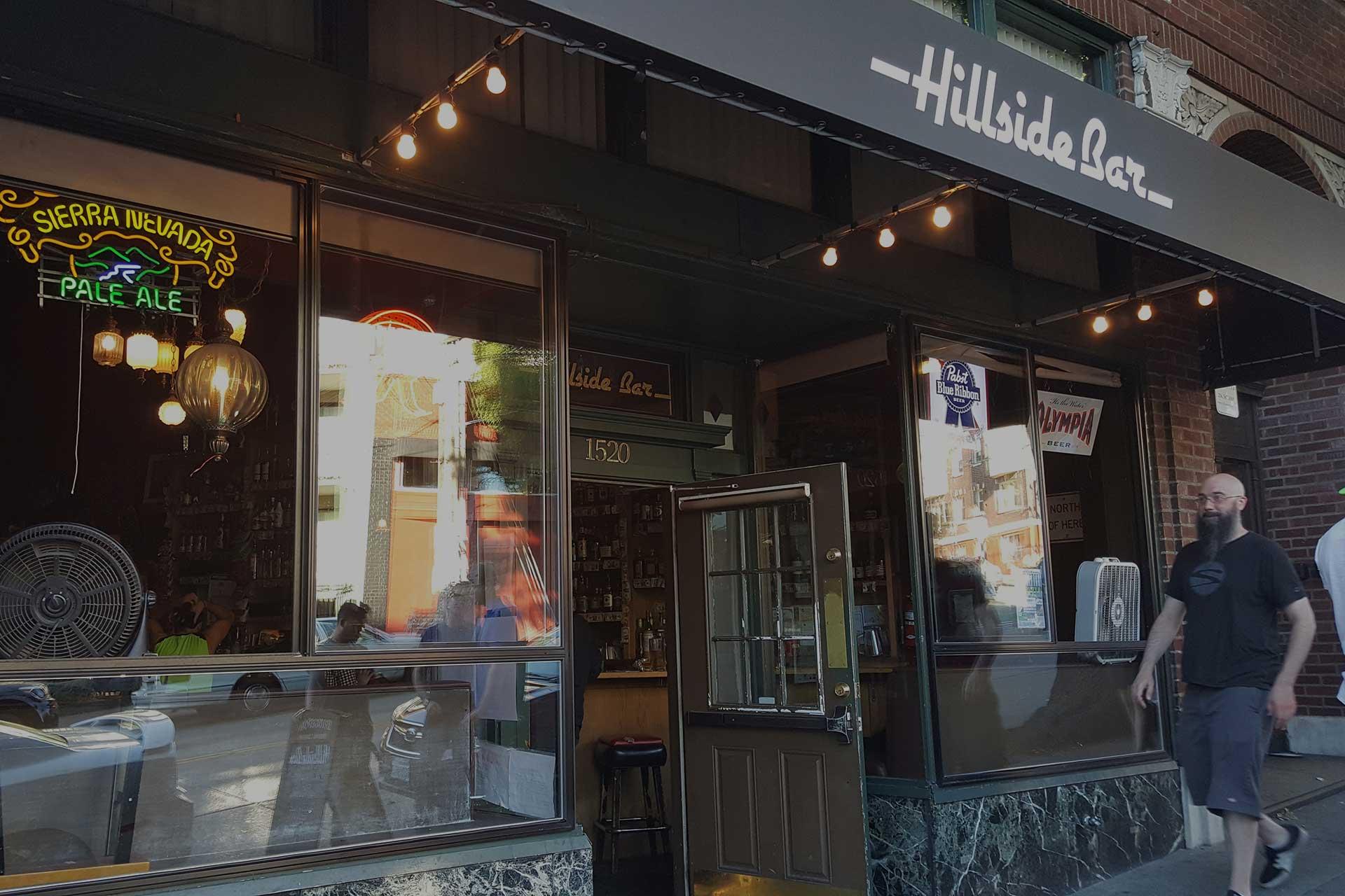 Hillside Entrance