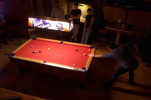 Bar Games Pool Table