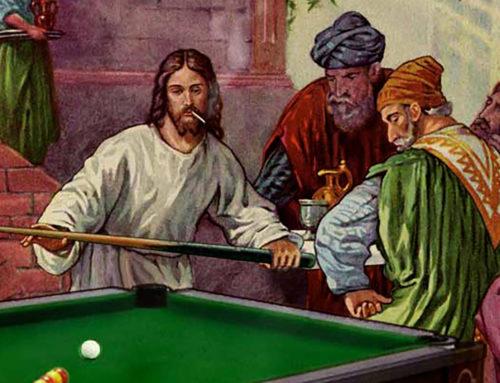 Jesus Christ, Pool is Free on Sundays