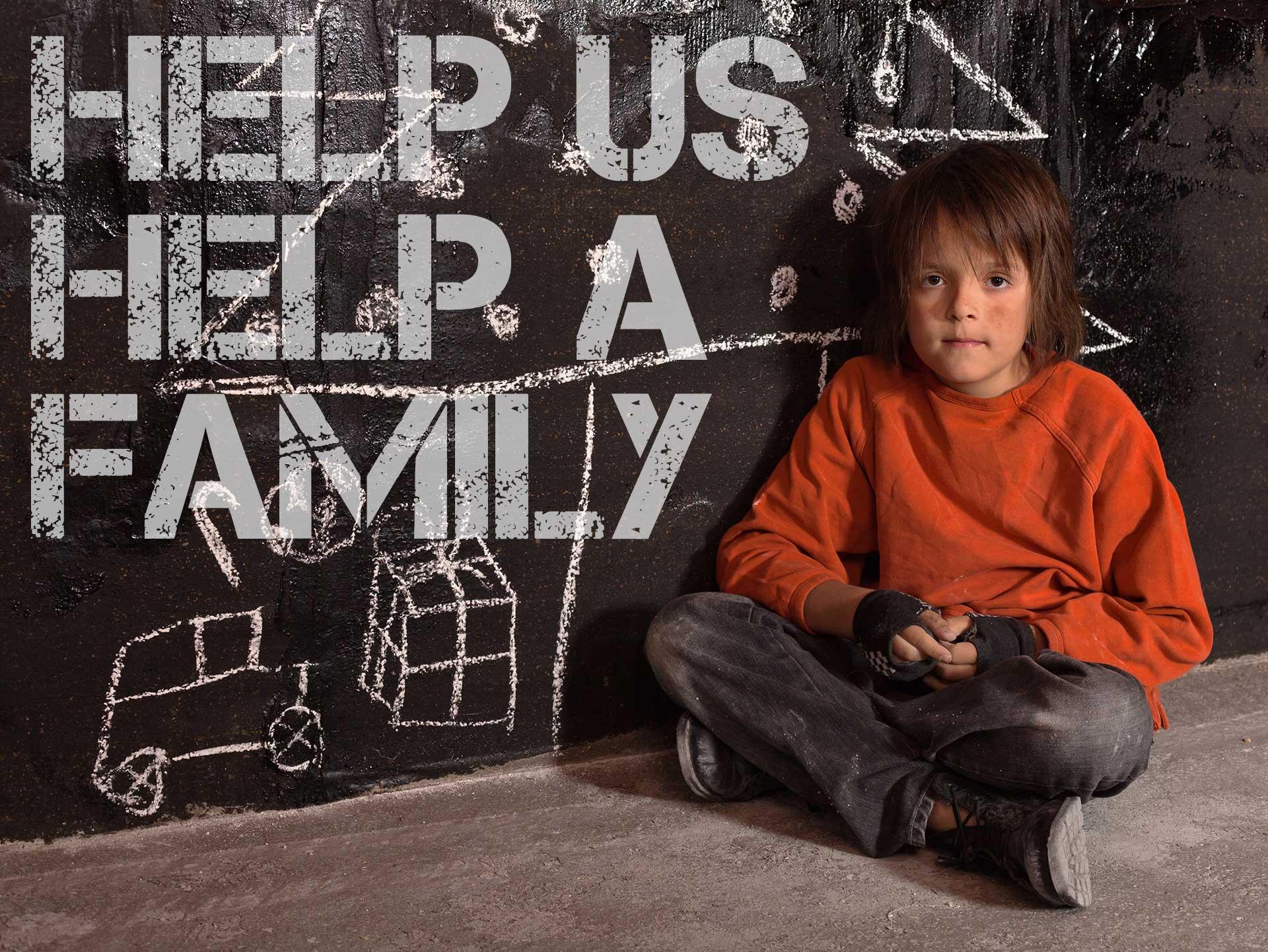 Help us help a family