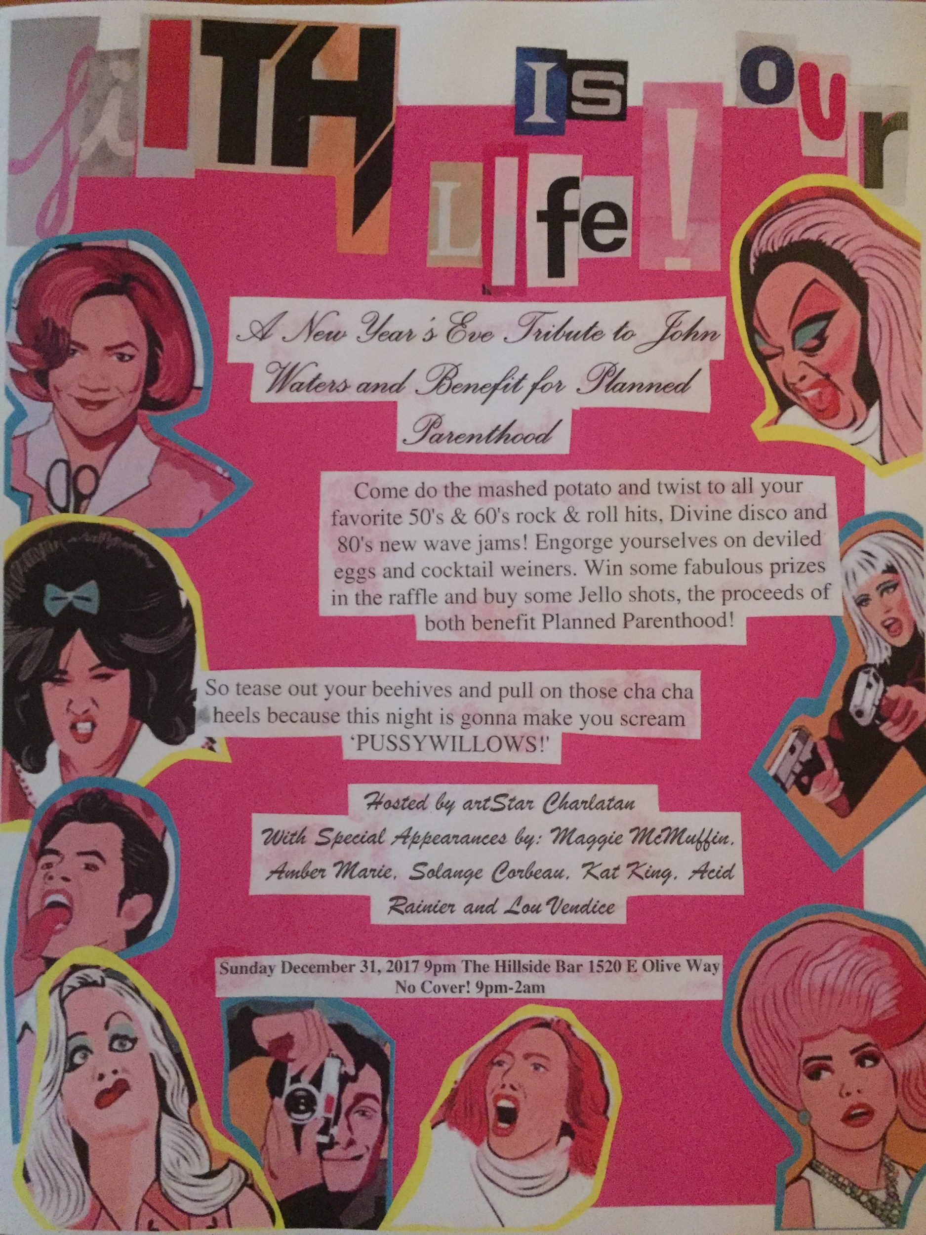 Filth Is Our Life! A New Year's Eve Tribute to John Waters
