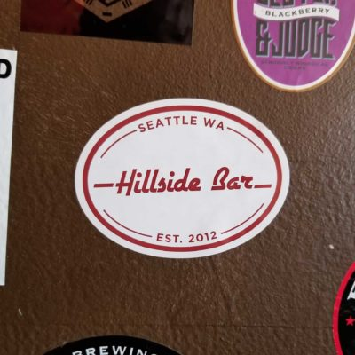 Hillside Logo Sticker