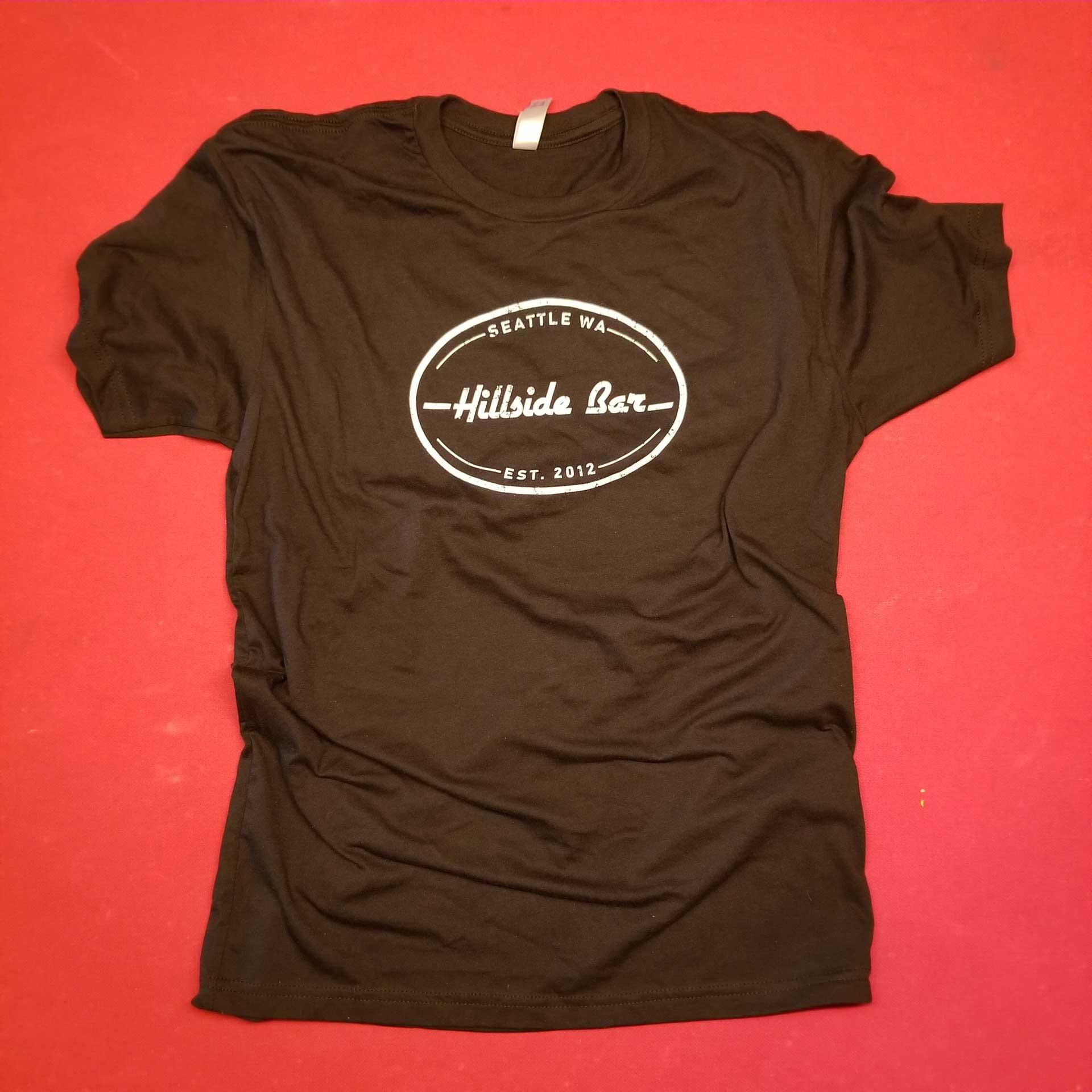 Hillside Mens Logo Tee Black