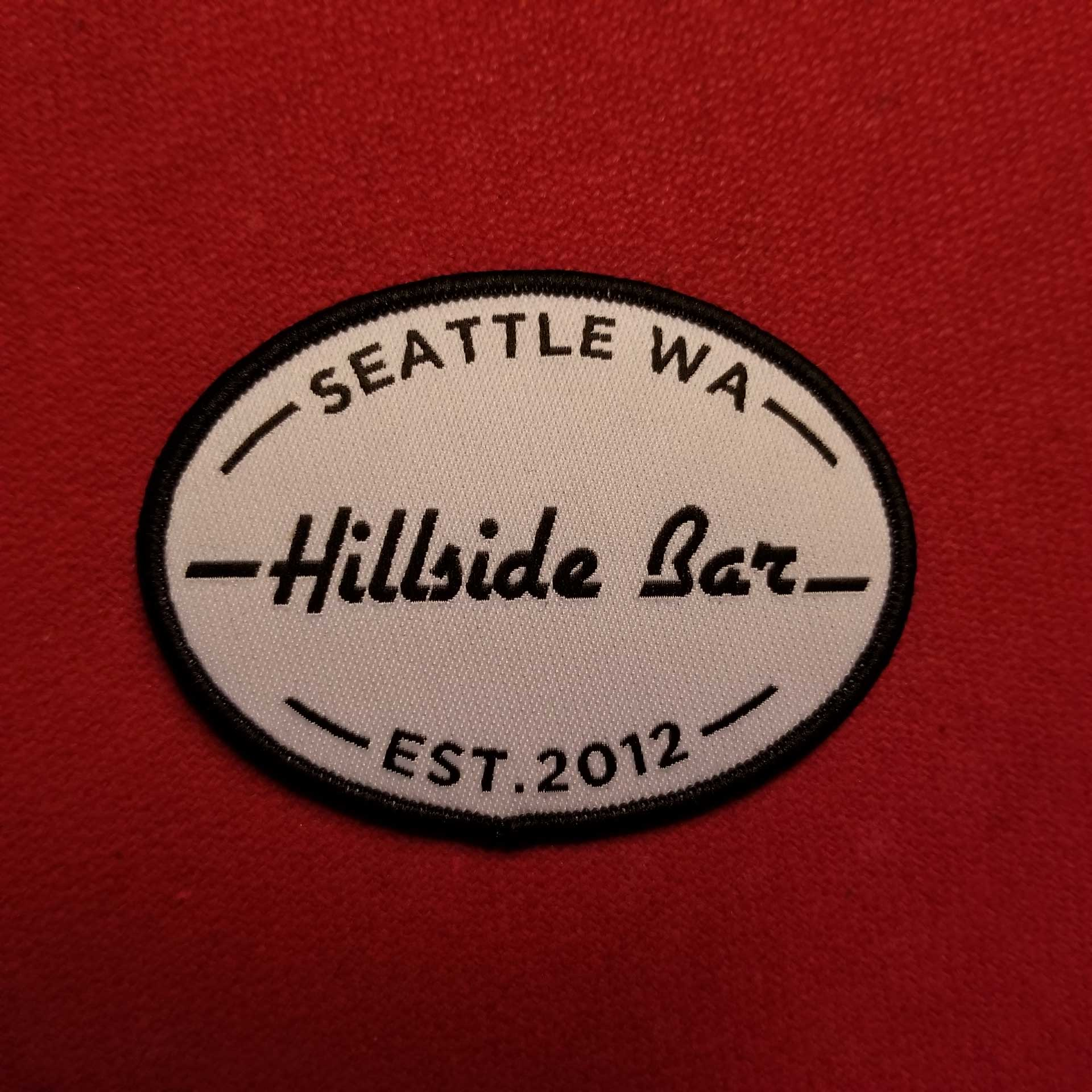 Hillside Patch Black
