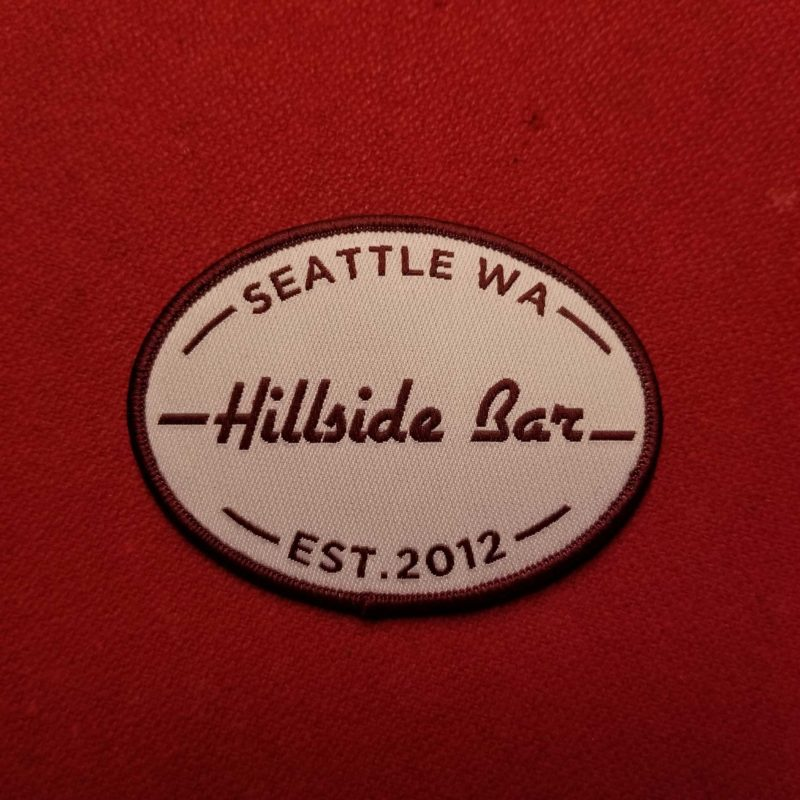 Hillside Patch Red