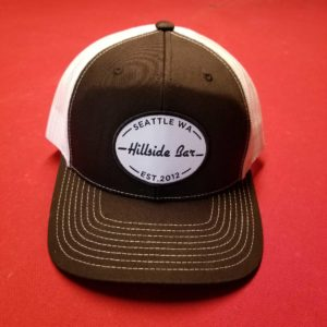 Hillside Trucker Hat Black