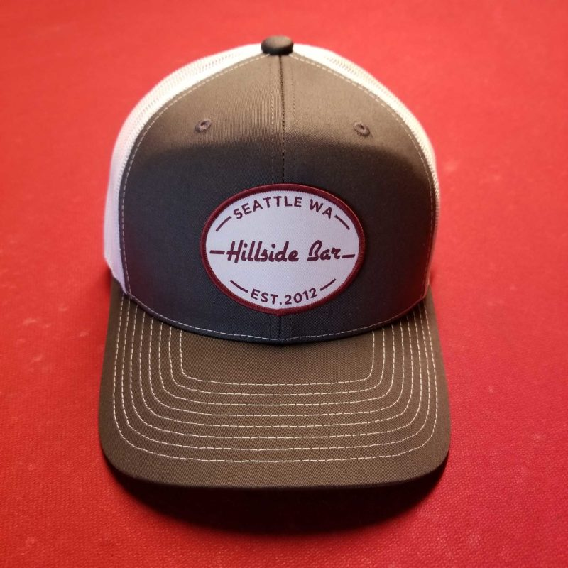 Hillside Trucker Hat Gray