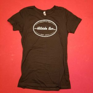 Hillside Womens Logo Tee Black