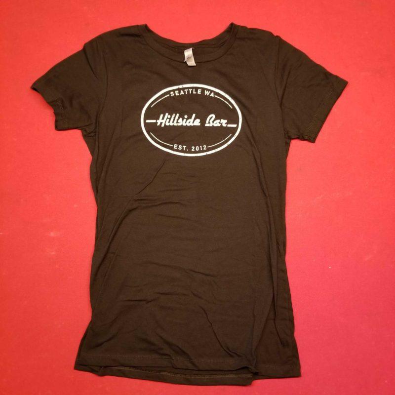 Hillside Womens Logo Tee Black