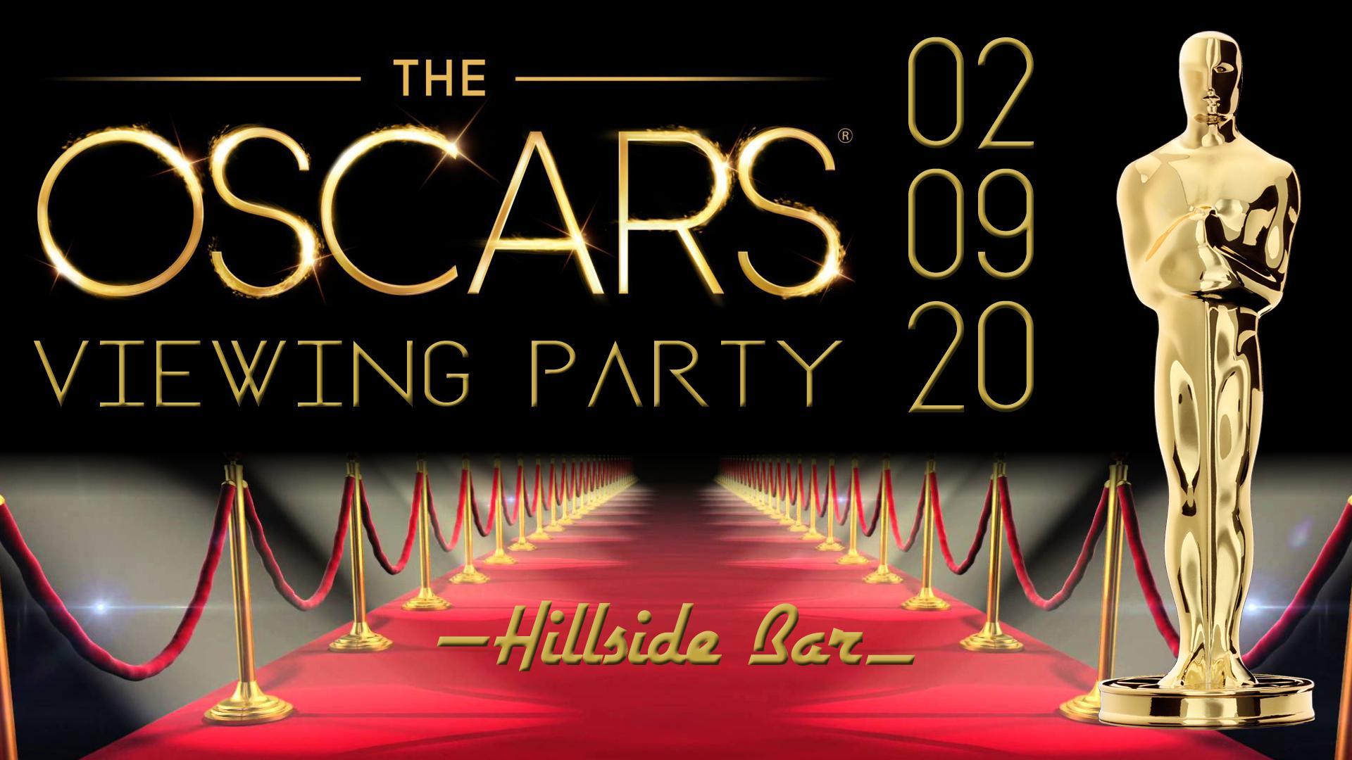 Hillside Oscar Party 2020