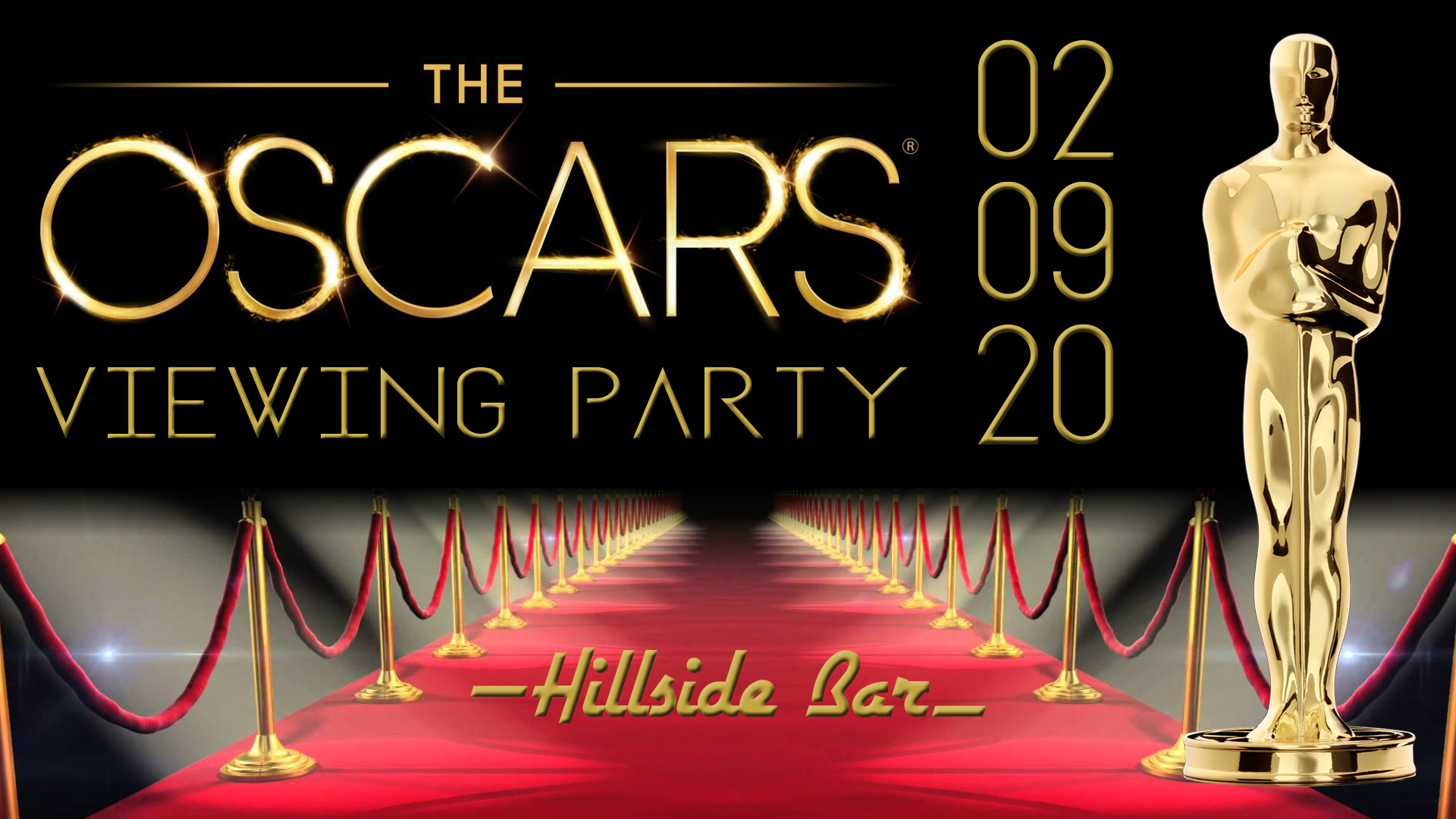 Hillside Oscar Party 2020